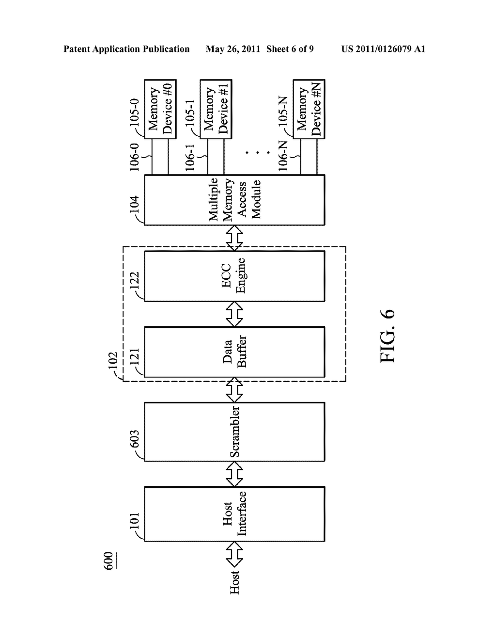 MULTI-CHANNEL MEMORY APPARATUS AND METHOD THEREOF - diagram, schematic, and image 07