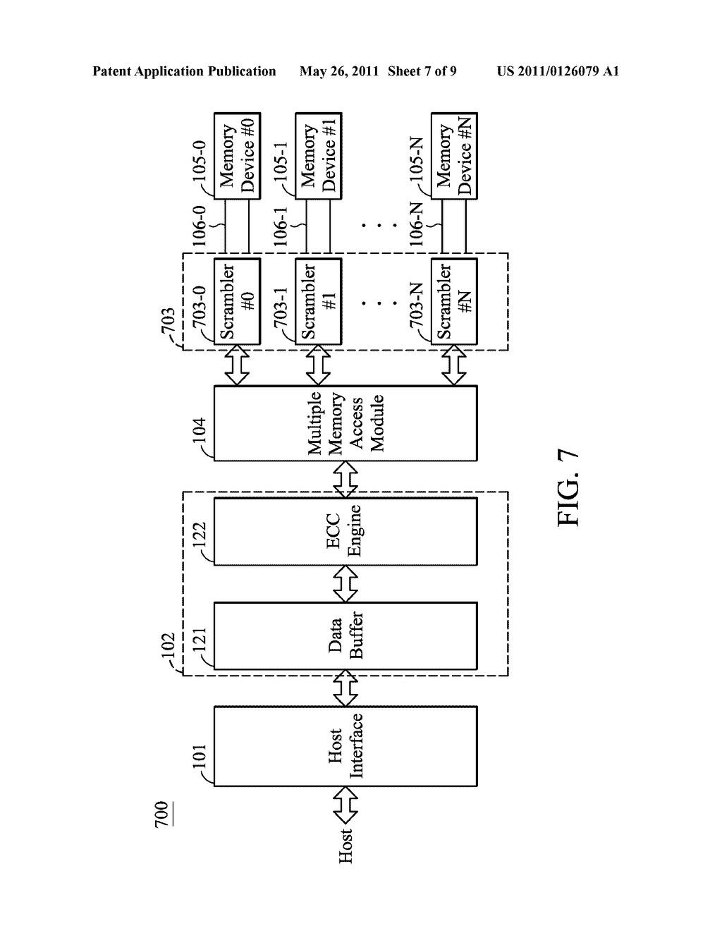 MULTI-CHANNEL MEMORY APPARATUS AND METHOD THEREOF - diagram, schematic, and image 08