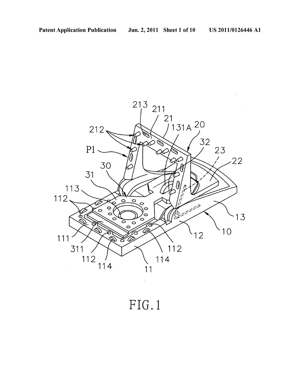 mouse trap having retractable biting portions - diagram, schematic, and  image 02