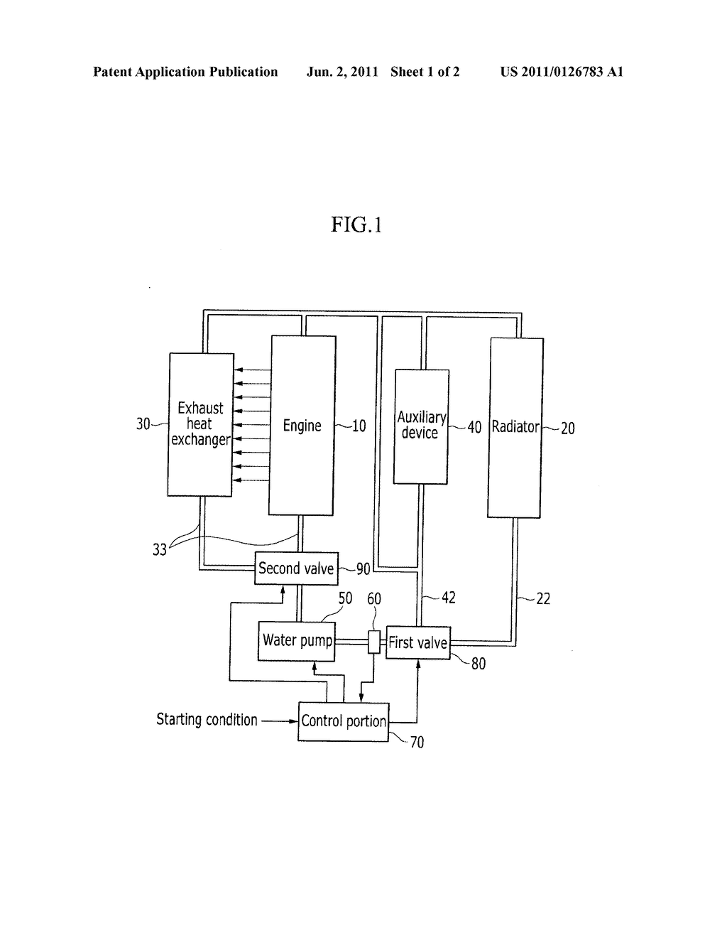 Exhaust Heat Recovery System of Vehicle and Method Thereof - diagram, schematic, and image 02
