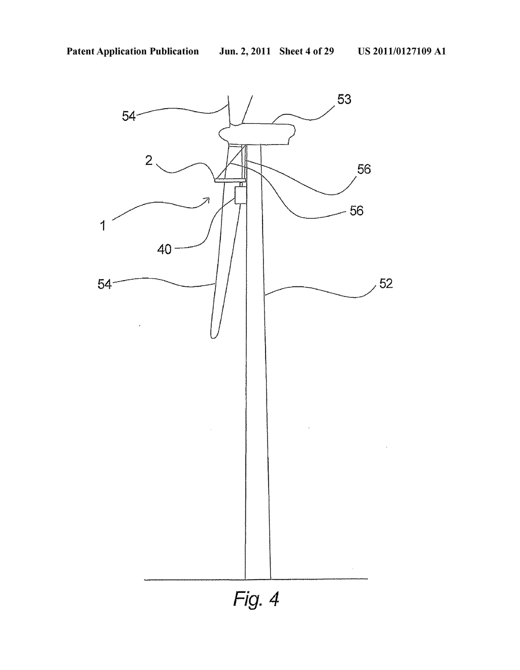 DEVICE FOR ENABLING ACCESS TO A WIND TURBINE - diagram, schematic, and image 05