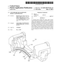 Coulomb Friction Damped Disc Brake Caliper Bracket diagram and image
