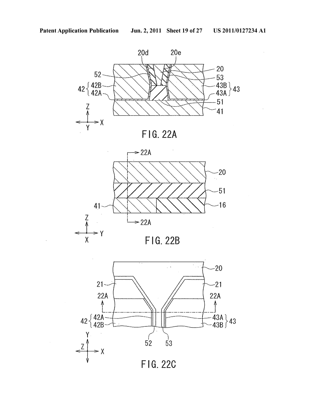 Method of manufacturing magnetic head for perpendicular magnetic recording     with shield around main magnetic pole - diagram, schematic, and image 20