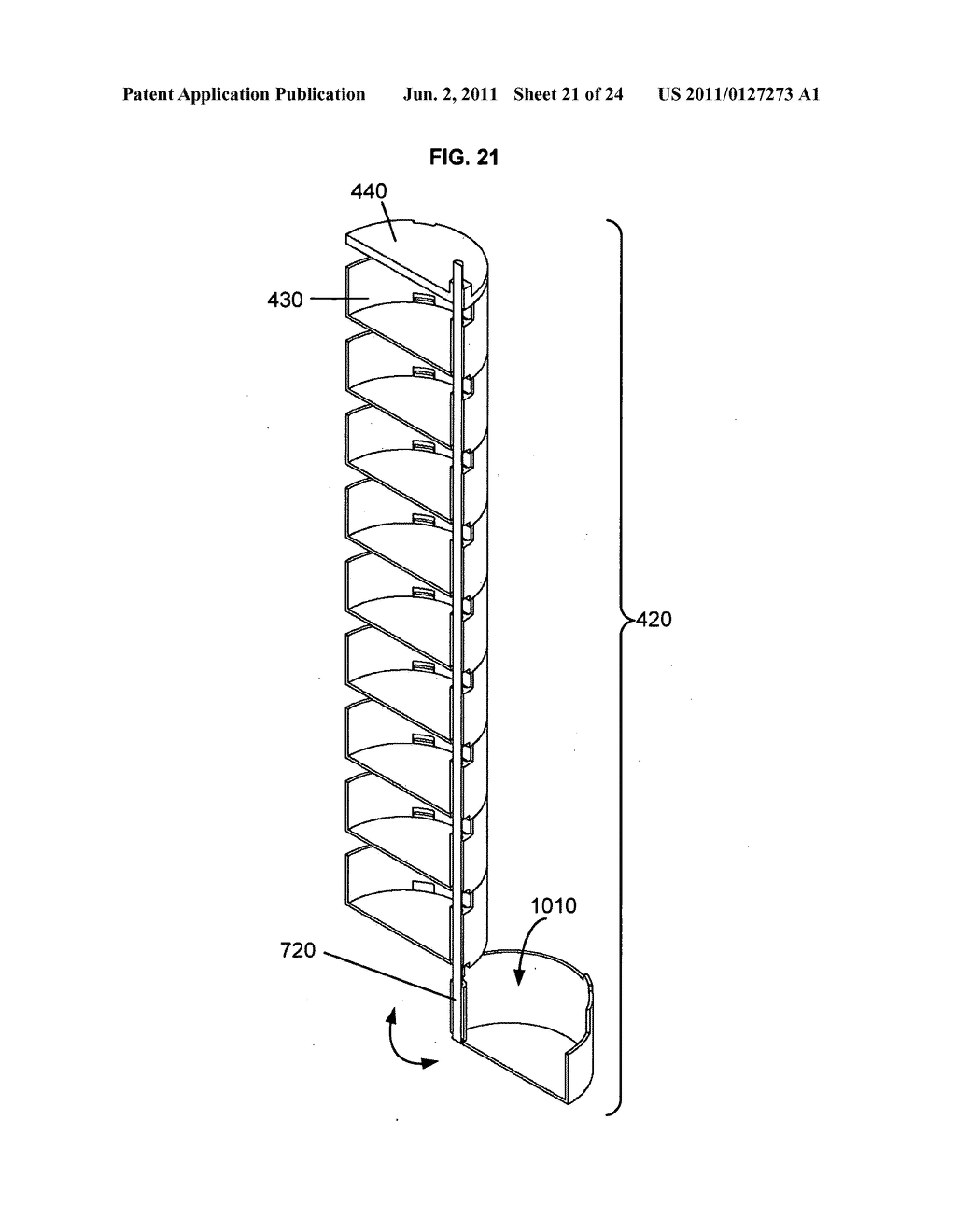 Temperature-stabilized storage systems including storage structures     configured for interchangeable storage of modular units - diagram, schematic, and image 22