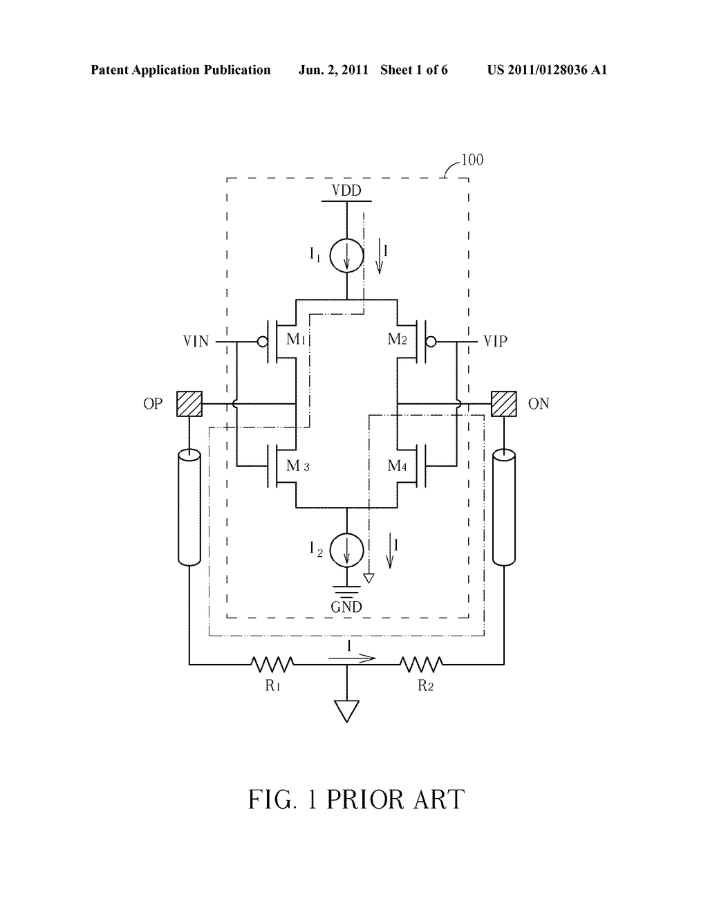 DRIVING CIRCUIT WITH IMPEDENCE CALIBRATION - diagram, schematic, and image 02