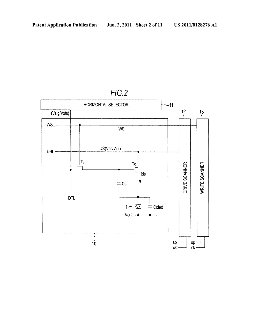 Display apparatus and display drive method - diagram, schematic, and image 03