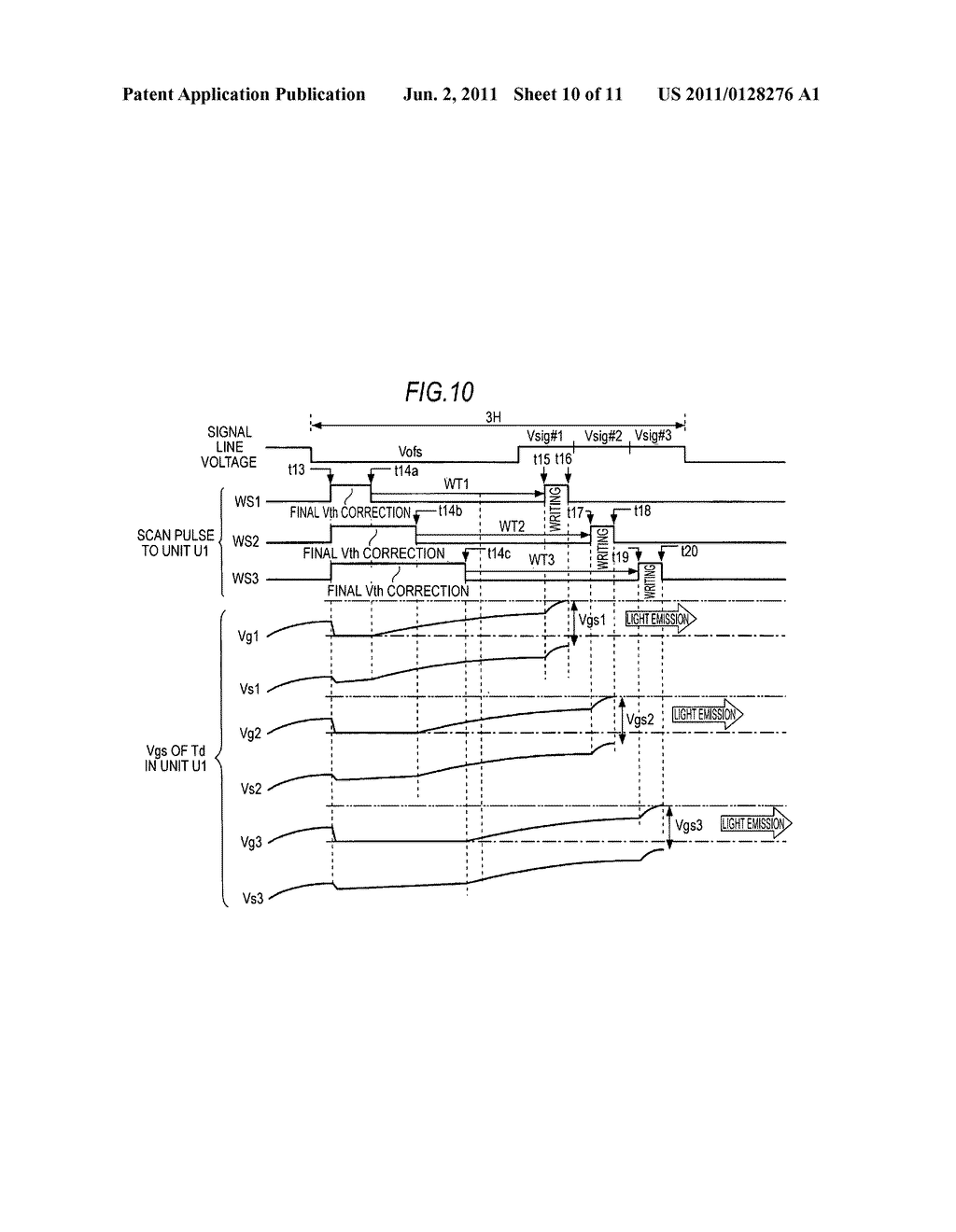 Display apparatus and display drive method - diagram, schematic, and image 11