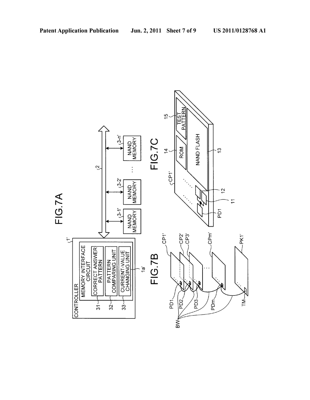 MEMORY INTERFACE CIRCUIT - diagram, schematic, and image 08