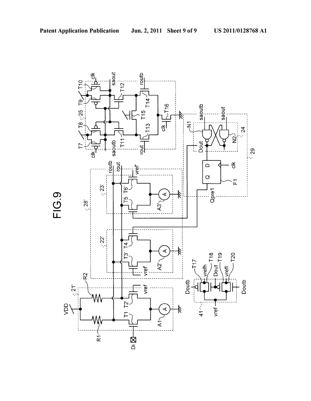 MEMORY INTERFACE CIRCUIT - diagram, schematic, and image 10