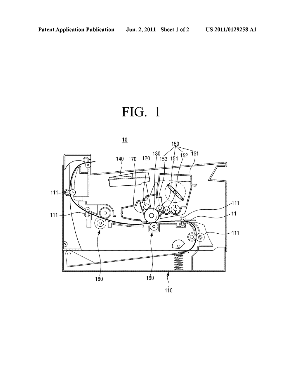 CHARGING ROLLER FOR IMAGE FORMING APPARATUS AND MANUFACTURING METHOD     THEREOF - diagram, schematic, and image 02