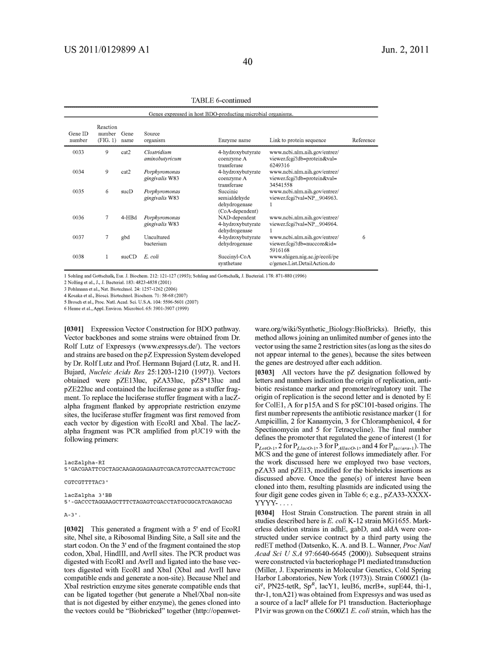 MICROORGANISMS FOR THE PRODUCTION OF 1,4-BUTANEDIOL, 4-HYDROXYBUTANAL,     4-HYDROXYBUTYRYL-COA, PUTRESCINE AND RELATED COMPOUNDS, AND METHODS     RELATED THERETO - diagram, schematic, and image 109