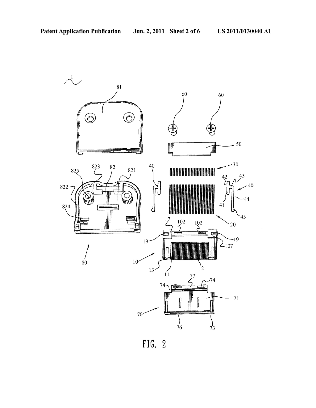 ELECTRICAL CONNECTOR - diagram, schematic, and image 03