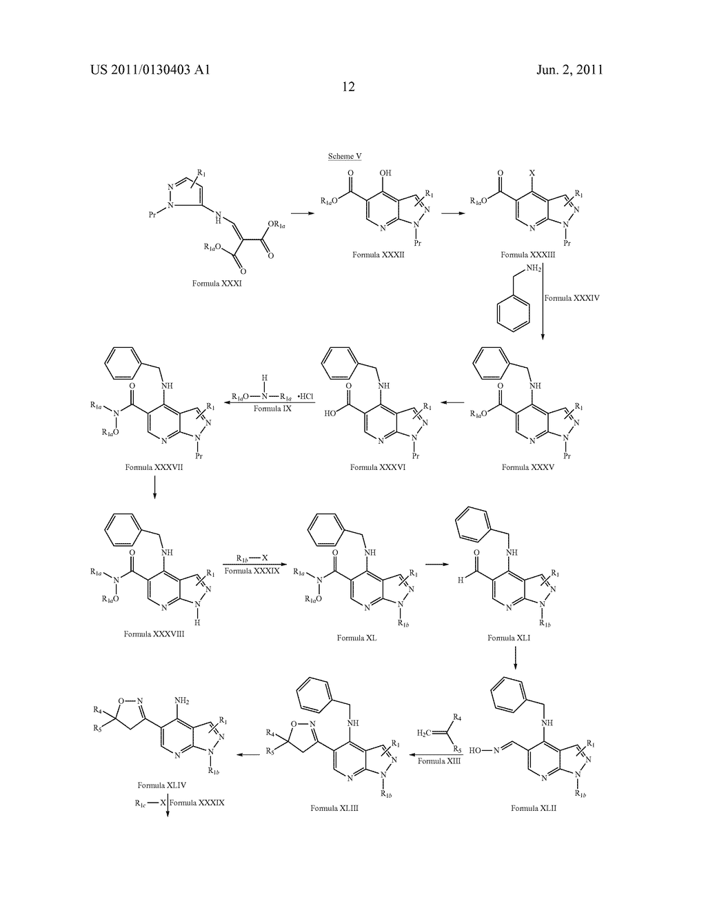 PYRAZOLO [3, 4-B] PYRIDINE DERIVATIVES AS PHOSPHODIESTERASE INHIBITORS - diagram, schematic, and image 13