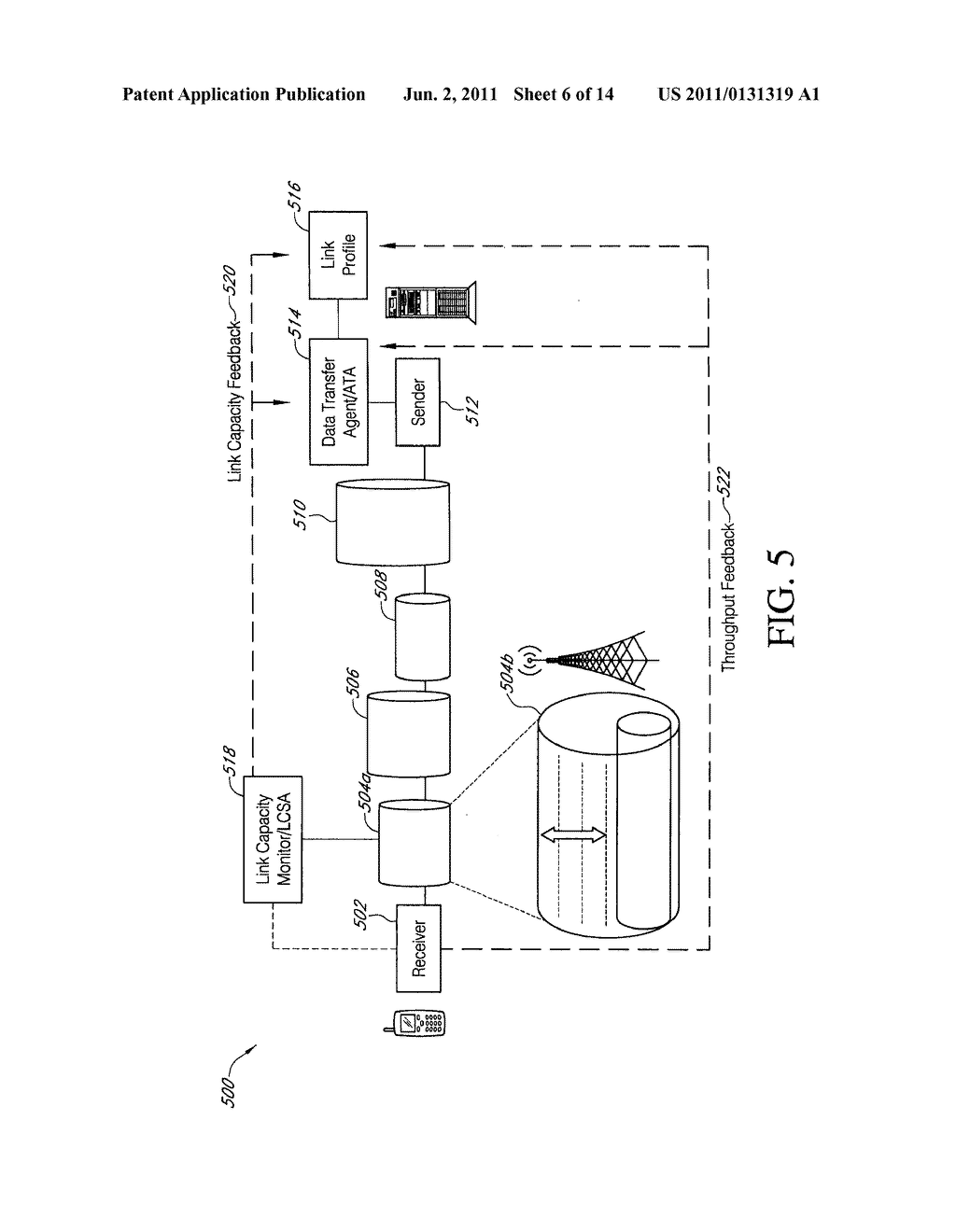 SYSTEMS AND METHODS FOR OPTIMIZING CHANNEL RESOURCES BY COORDINATING DATA     TRANSFERS BASED ON DATA TYPE AND TRAFFIC - diagram, schematic, and image 07