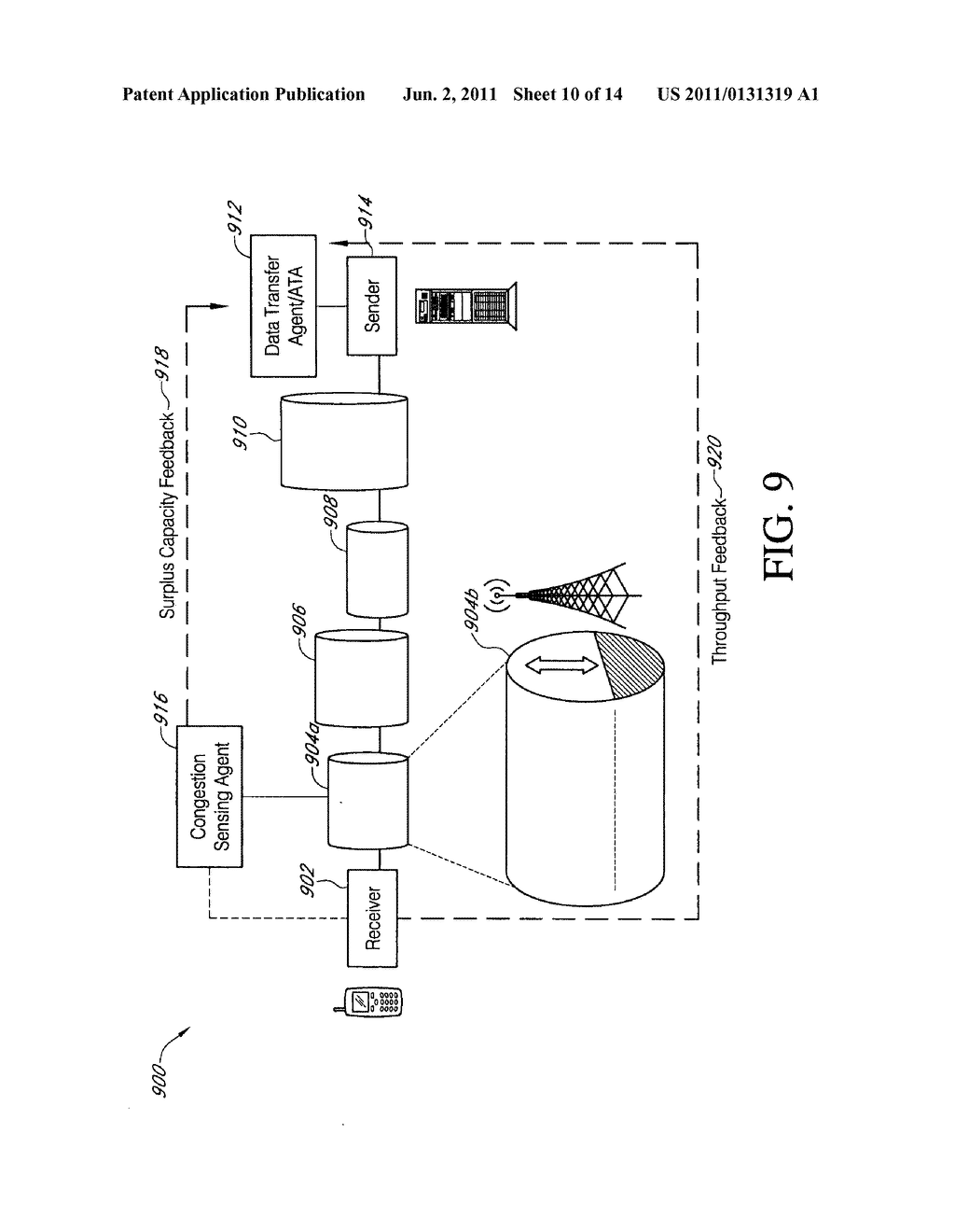 SYSTEMS AND METHODS FOR OPTIMIZING CHANNEL RESOURCES BY COORDINATING DATA     TRANSFERS BASED ON DATA TYPE AND TRAFFIC - diagram, schematic, and image 11