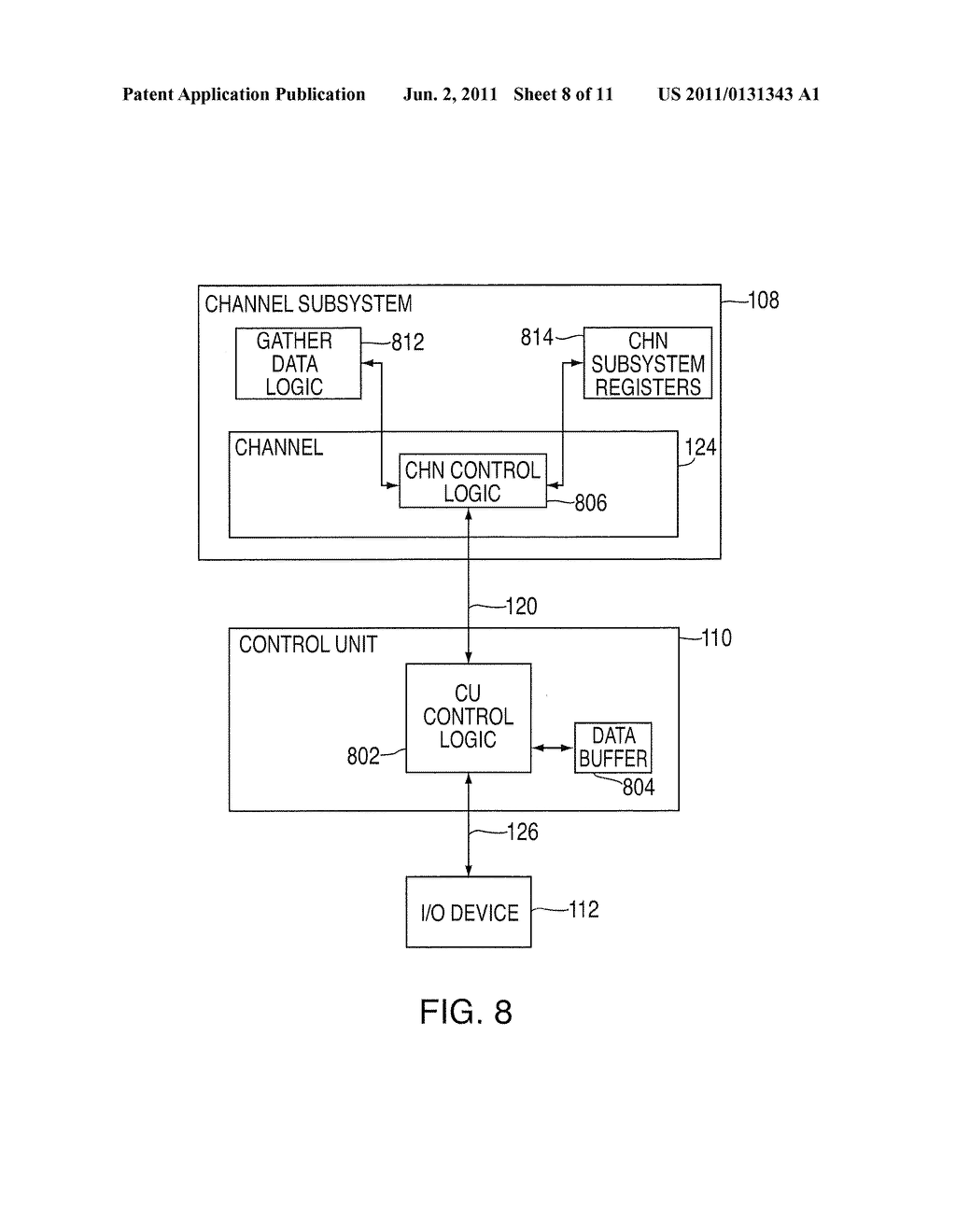 PROVIDING INDIRECT DATA ADDRESSING IN AN INPUT/OUTPUT PROCESSING SYSTEM     WHERE THE INDIRECT DATA ADDRESS LIST IS NON-CONTIGUOUS - diagram, schematic, and image 09