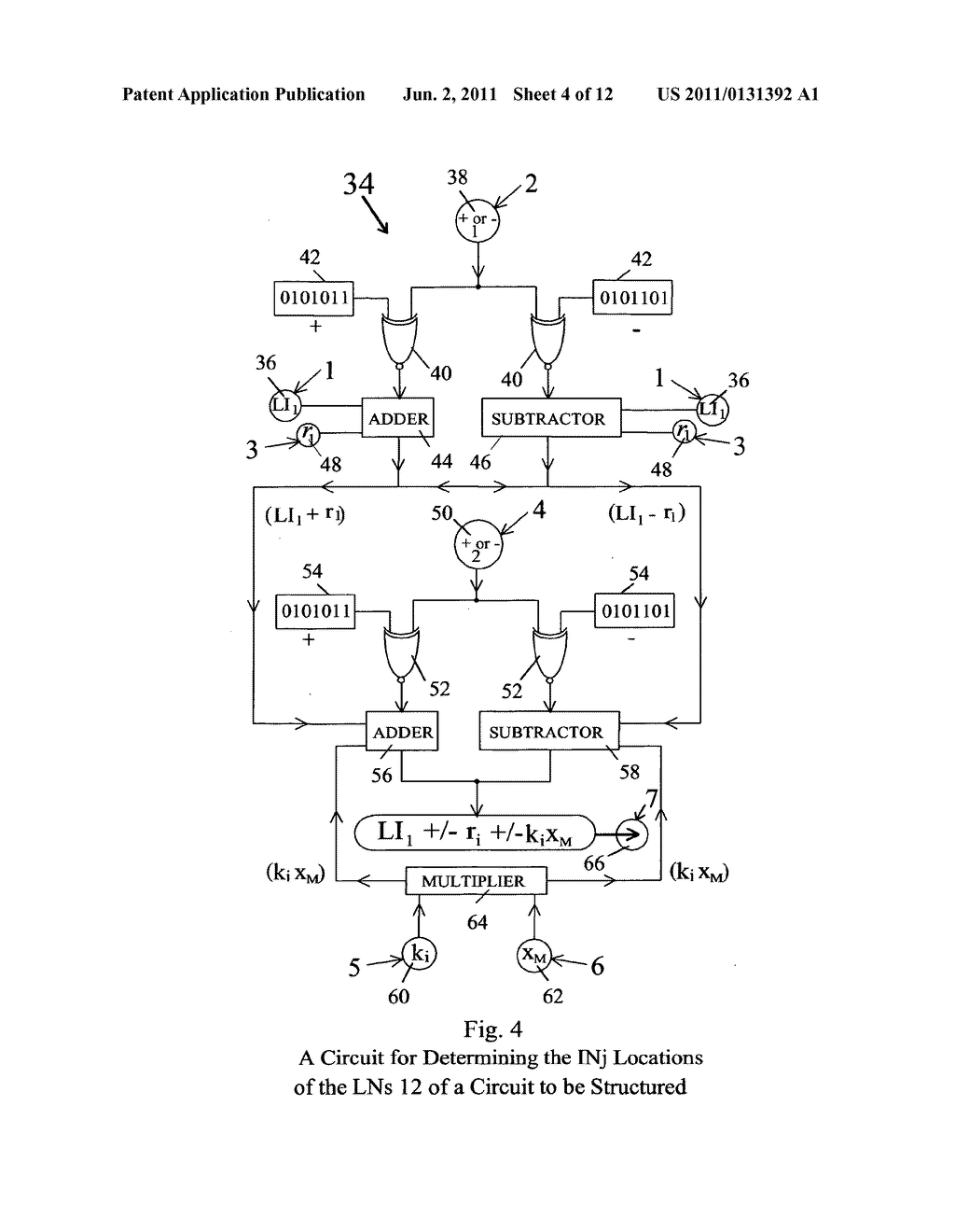 Method and apparatus for scalable and super-scalable information     processing using binary gate circuits structured by code-selected pass     transistors - diagram, schematic, and image 05