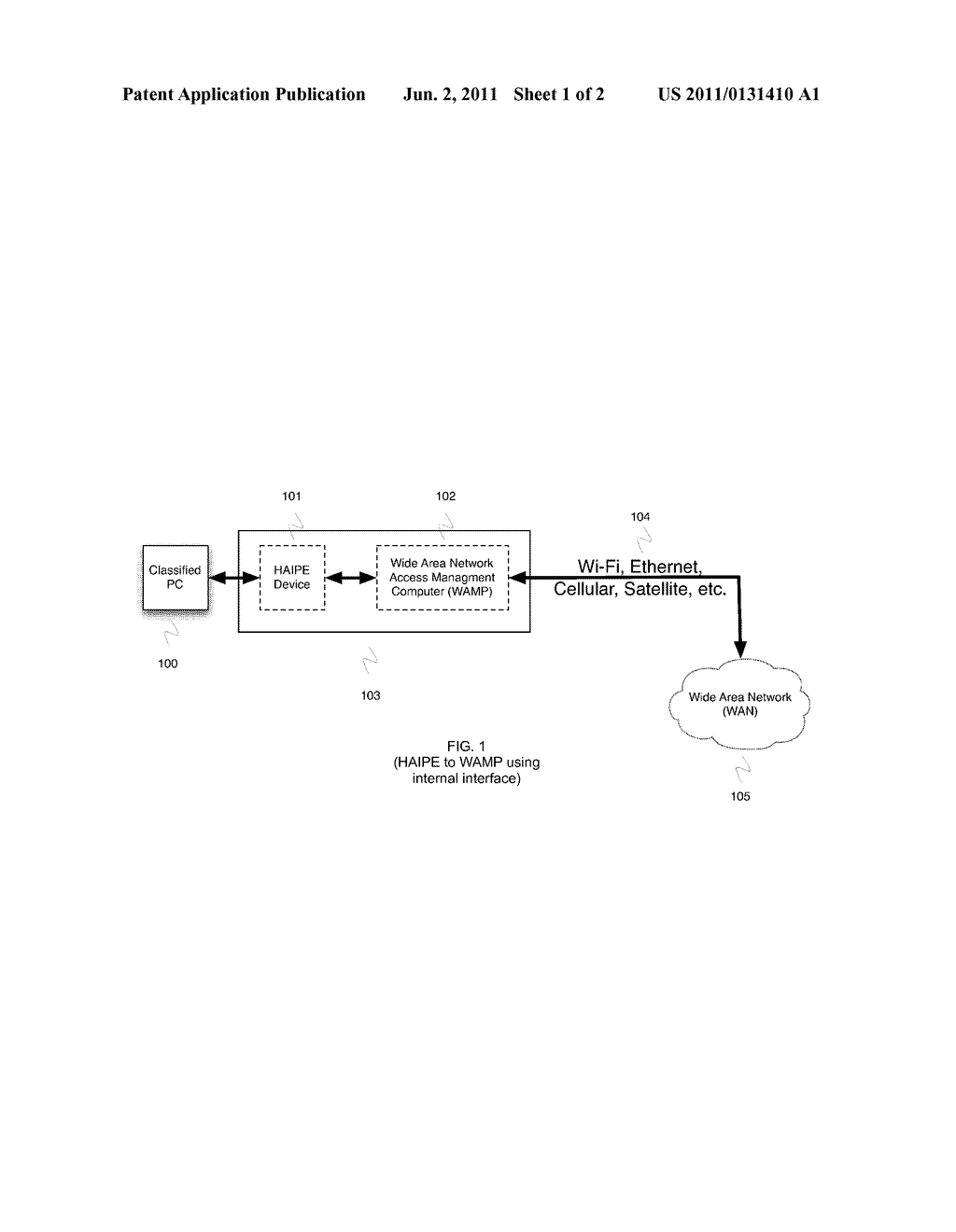 WIDE AREA NETWORK ACCESS MANAGEMENT COMPUTER - diagram, schematic, and image 02