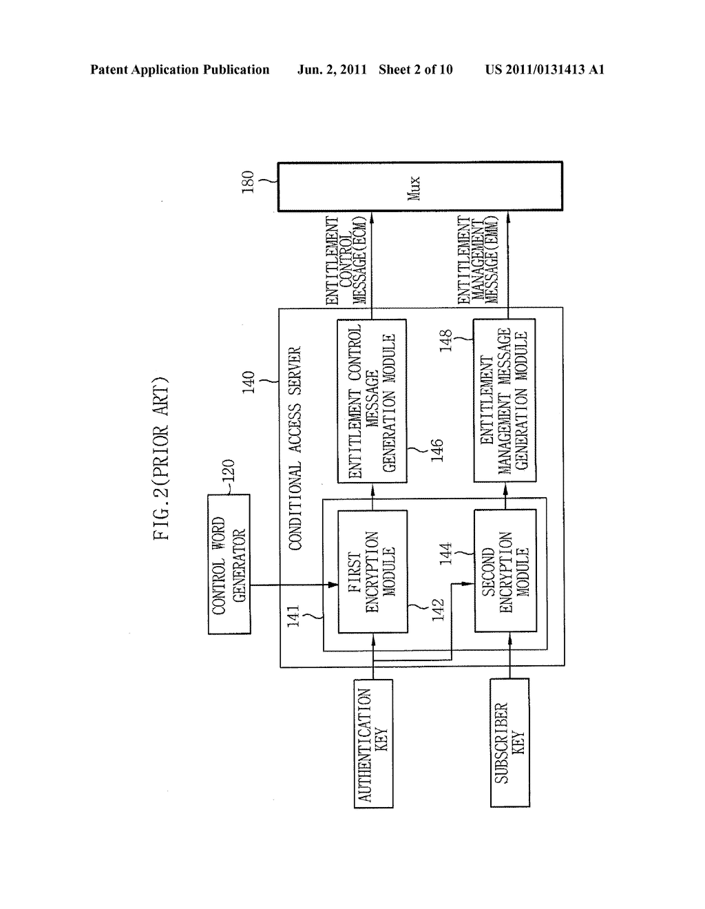 APPARATUS AND METHOD FOR DYNAMIC UPDATE OF SOFTWARE-BASED IPTV CONDITIONAL     ACCESS SYSTEM - diagram, schematic, and image 03