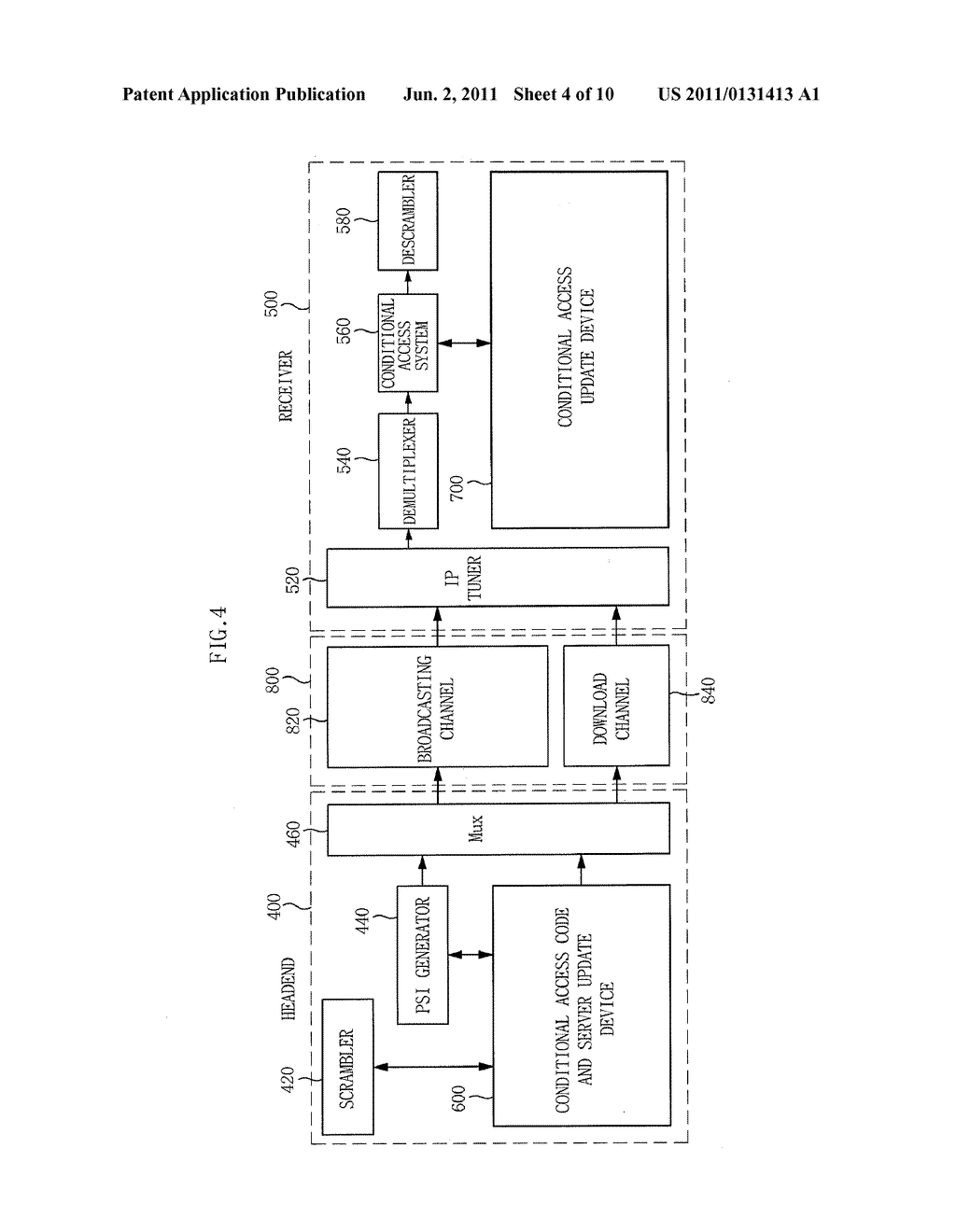 APPARATUS AND METHOD FOR DYNAMIC UPDATE OF SOFTWARE-BASED IPTV CONDITIONAL     ACCESS SYSTEM - diagram, schematic, and image 05