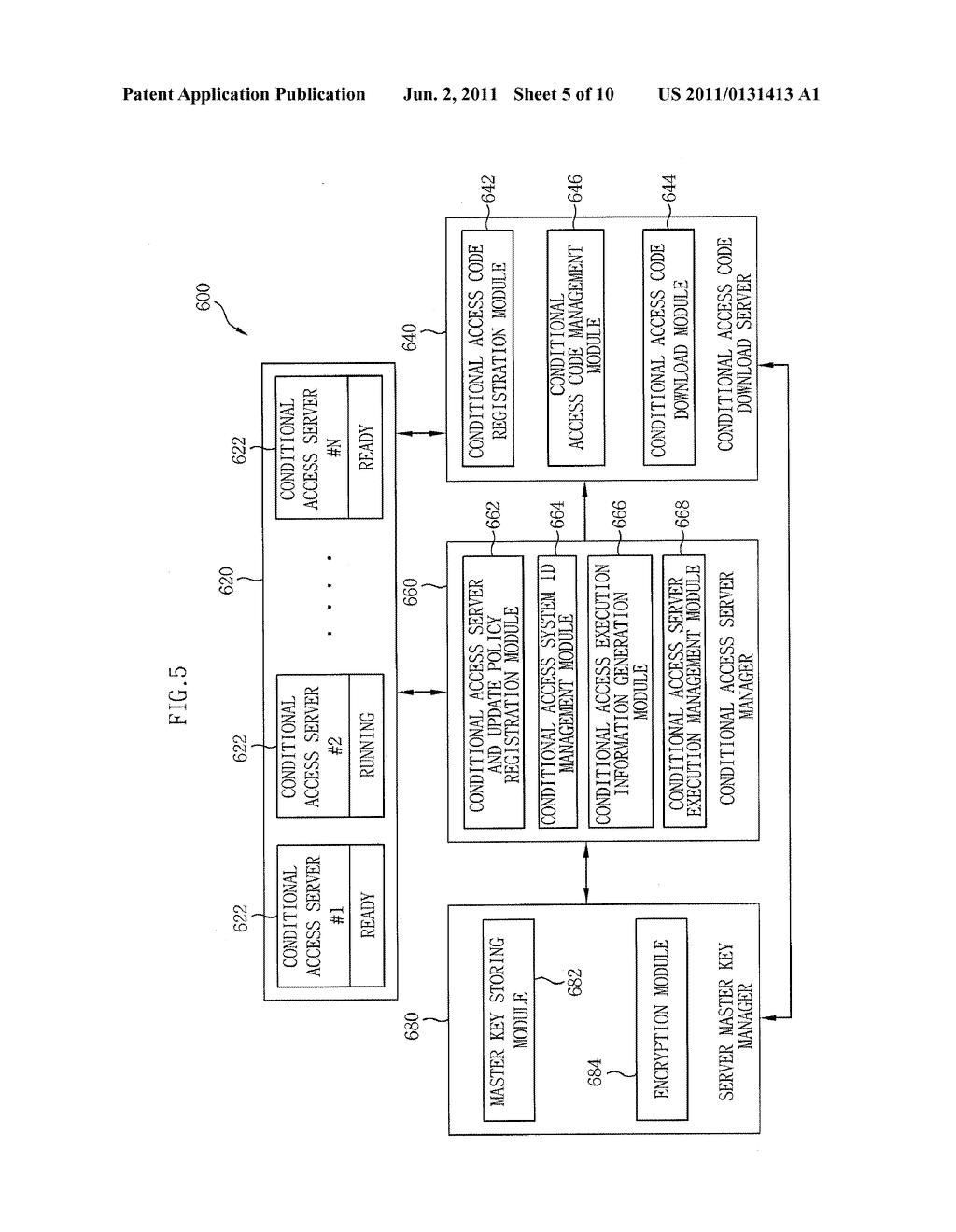 APPARATUS AND METHOD FOR DYNAMIC UPDATE OF SOFTWARE-BASED IPTV CONDITIONAL     ACCESS SYSTEM - diagram, schematic, and image 06