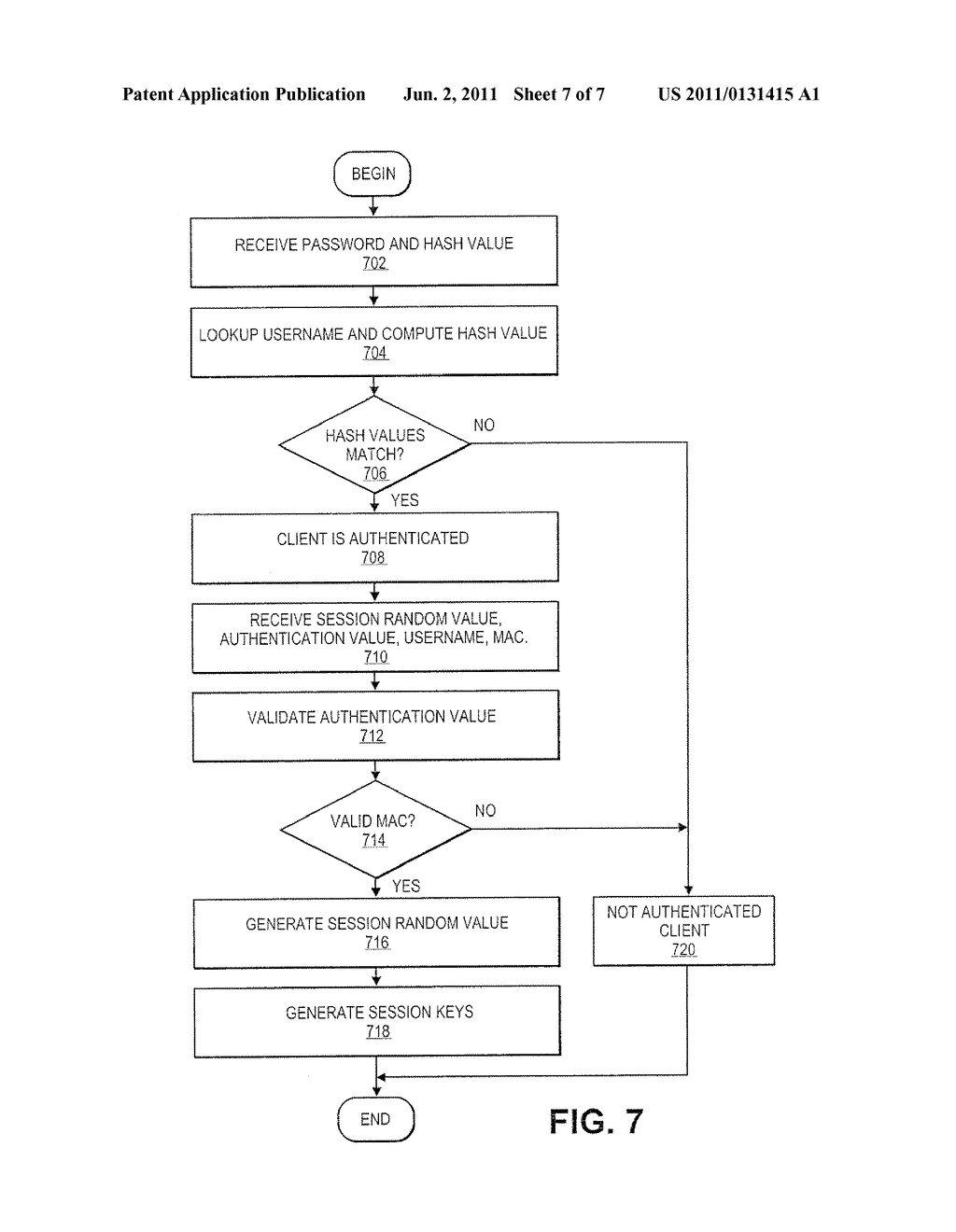 MULTIFACTOR USERNAME BASED AUTHENTICATION - diagram, schematic, and image 08