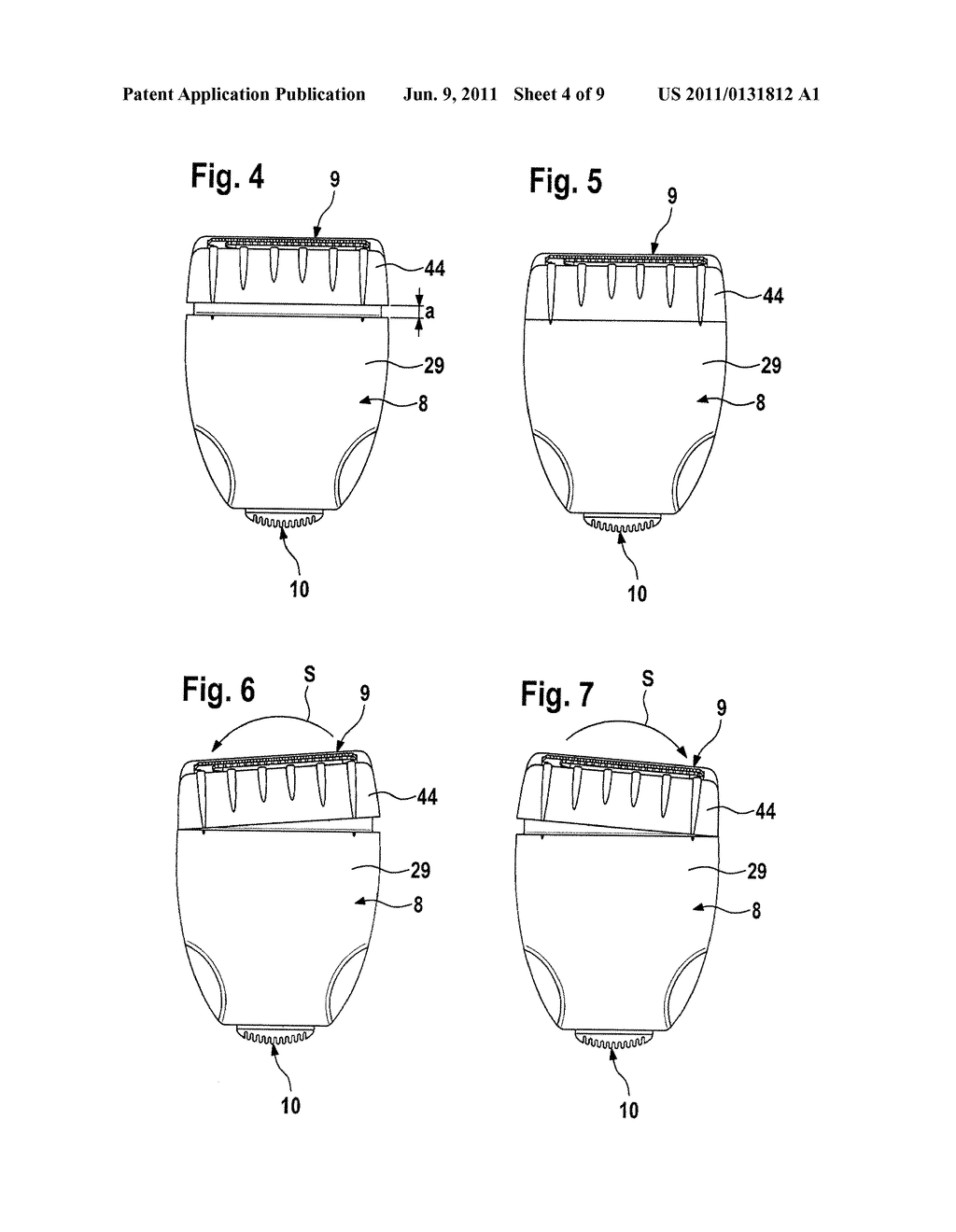 Electrically Operated Hair Cutting Device - diagram, schematic, and image 05