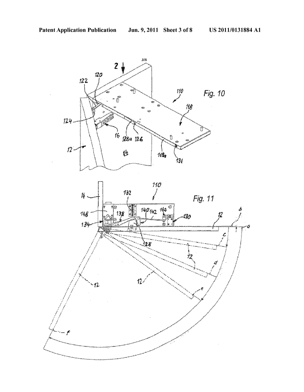 OPENING DEVICE FOR FURNITURE PARTS WHICH ARE MOVEABLE RELATIVE TO ONE     ANOTHER - diagram, schematic, and image 04