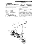 APPARATUS FOR ROTATING HANDLE FRAME OF BICYCLE diagram and image