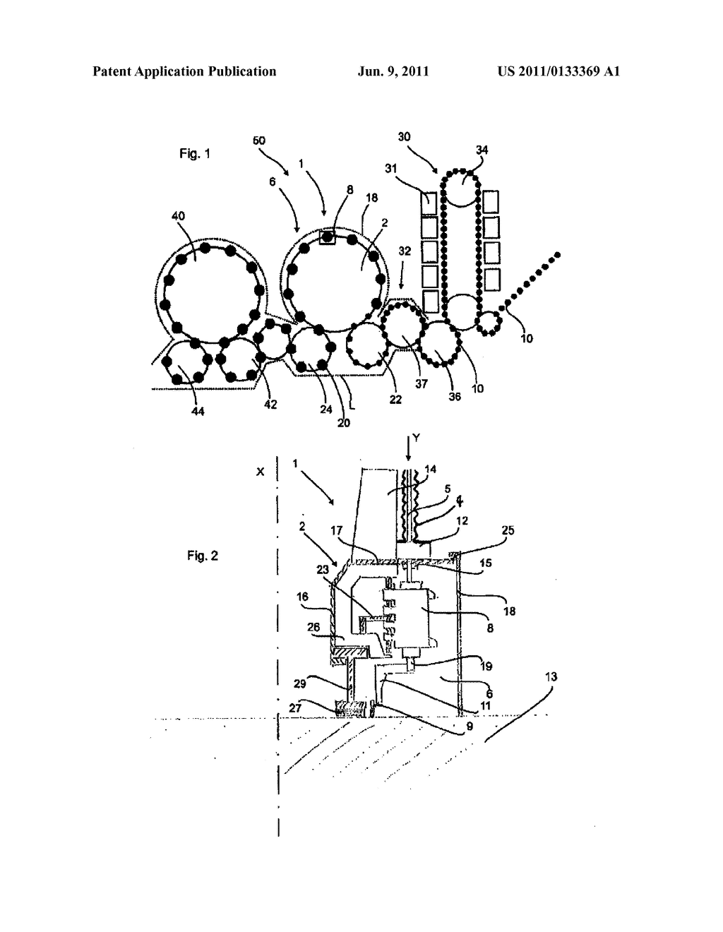 APPARATUS FOR SHAPING PLASTIC PREFORMS, COMPRISING A STERILE CHAMBER - diagram, schematic, and image 02