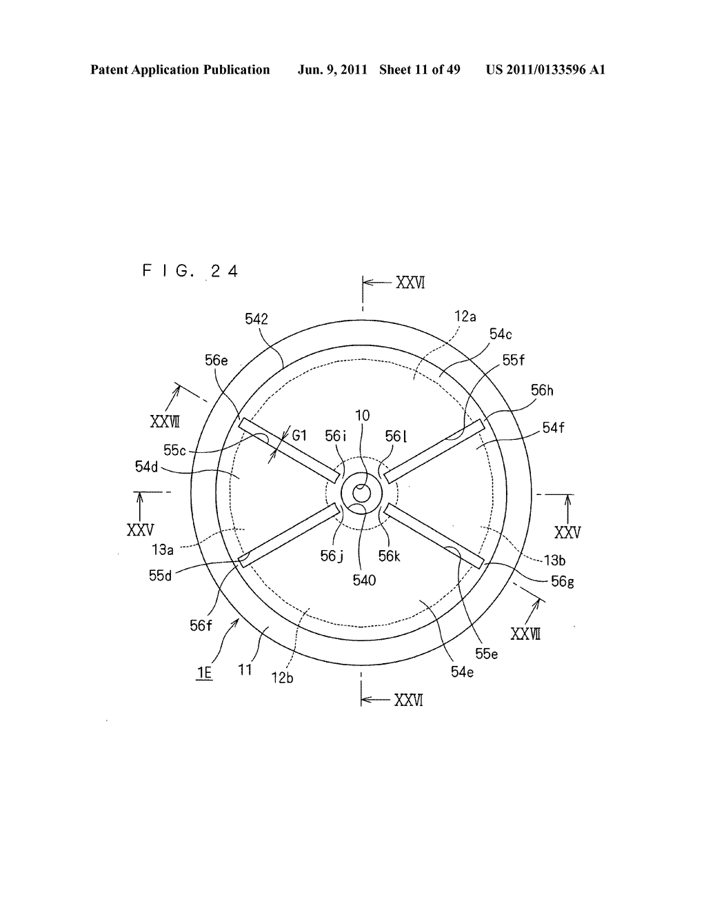 Rotor, Axial Gap Type Motor, Method of Driving Motor, and Compressor - diagram, schematic, and image 12