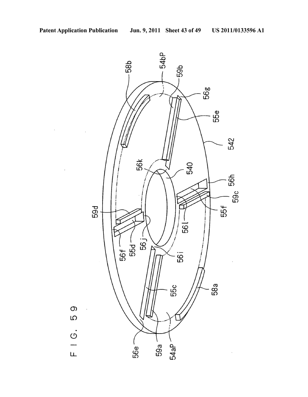 Rotor, Axial Gap Type Motor, Method of Driving Motor, and Compressor - diagram, schematic, and image 44