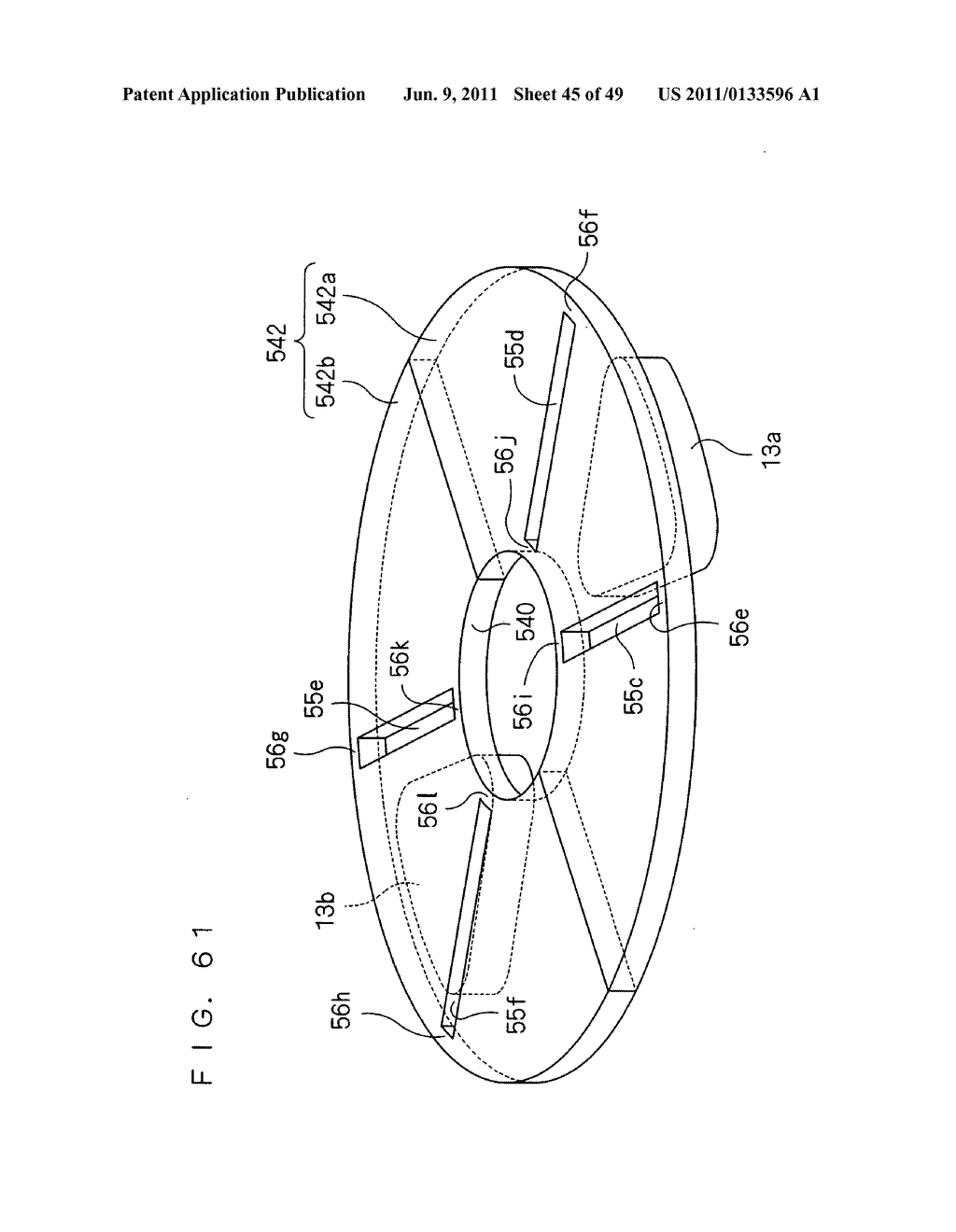 Rotor, Axial Gap Type Motor, Method of Driving Motor, and Compressor - diagram, schematic, and image 46