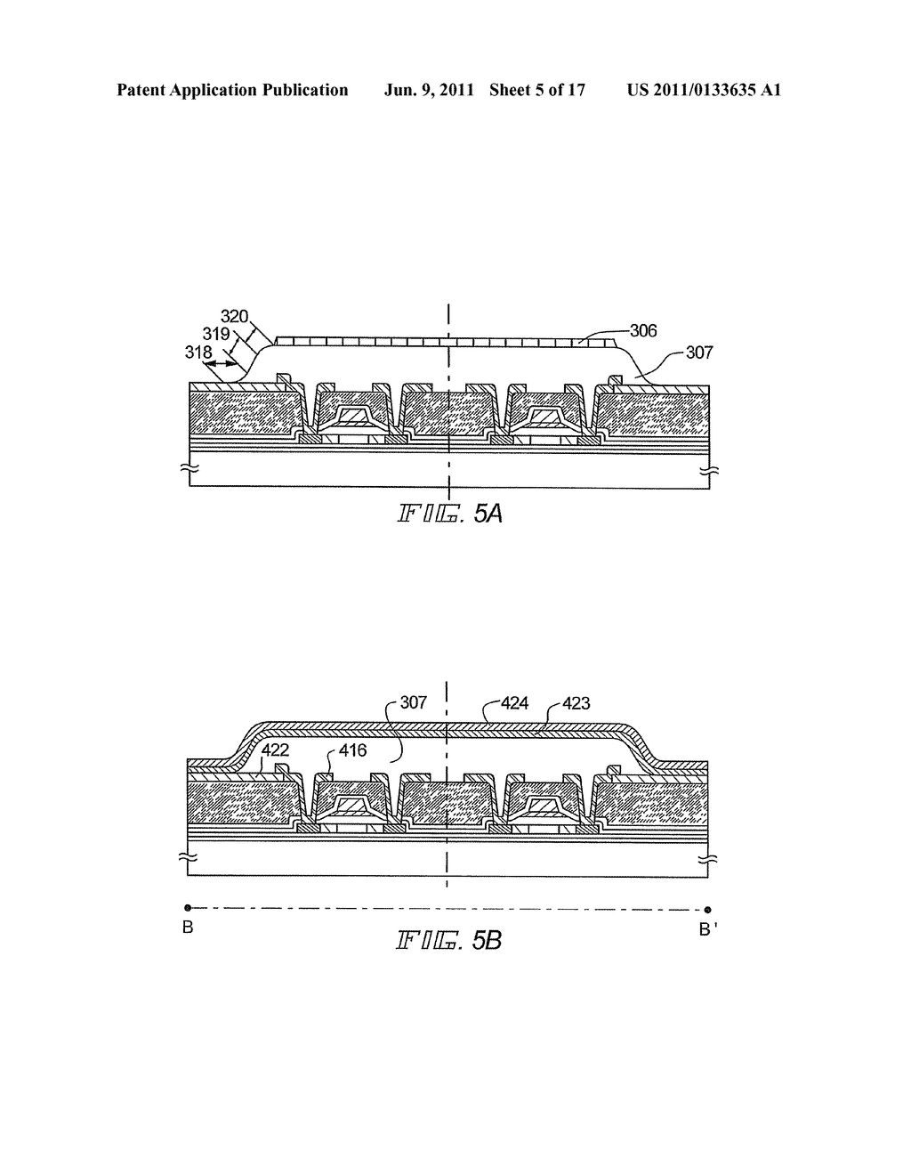 Display Device and Method of Fabricating the Display Device - diagram, schematic, and image 06