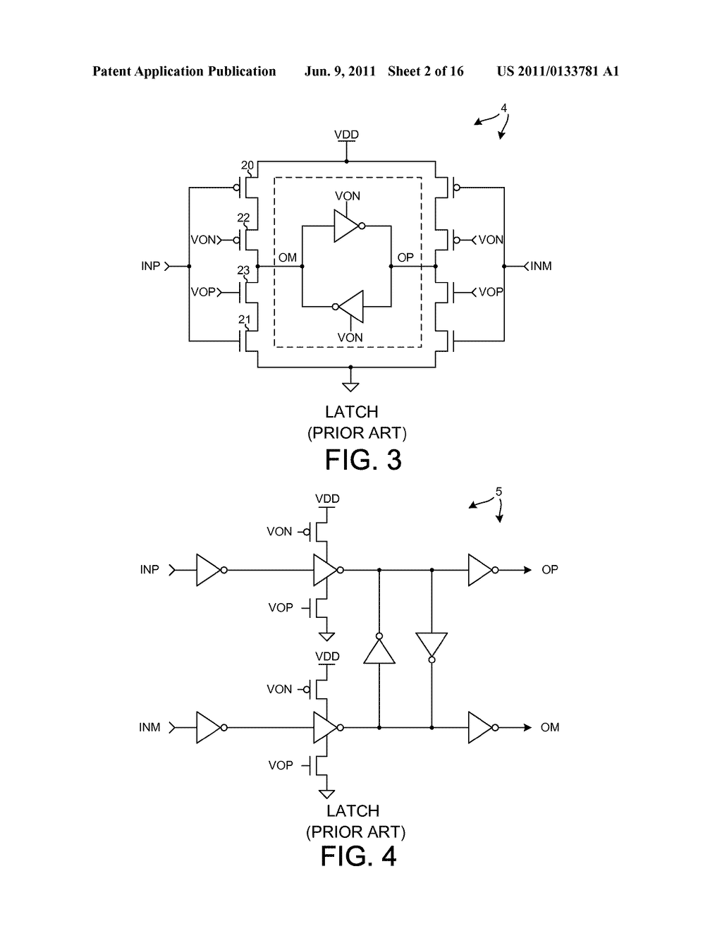 LOW POWER COMPLEMENTARY LOGIC LATCH AND RF DIVIDER - diagram, schematic, and image 03