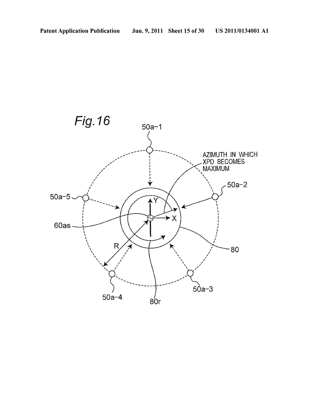 Antenna Evaluation Apparatus For Evaluating Multiple Wave Of Radio Waves Diagram Transmitted From Scatterer Antennas With Function Calibration The Same