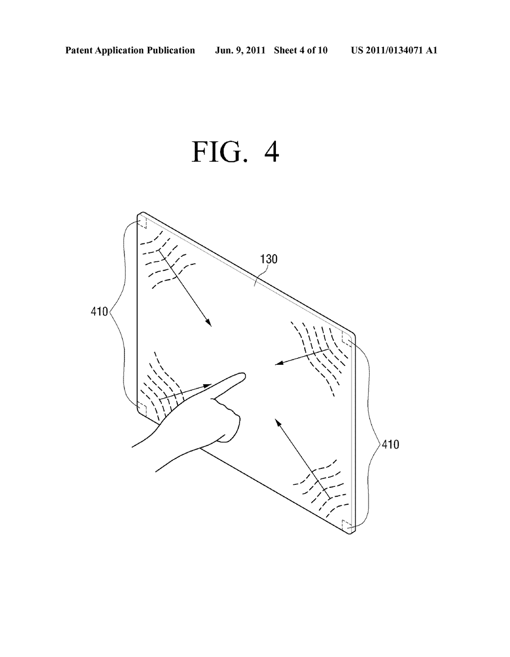 DISPLAY APPARATUS AND TOUCH SENSING METHOD - diagram, schematic, and image 05