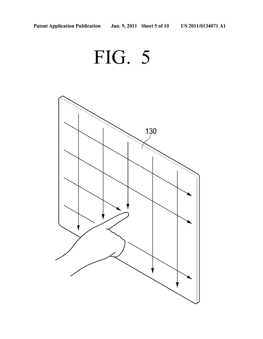 DISPLAY APPARATUS AND TOUCH SENSING METHOD - diagram, schematic, and image 06