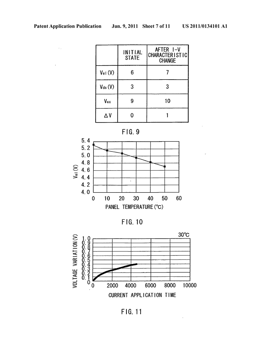 Display device, method of driving the display device, and electronic     device - diagram, schematic, and image 08
