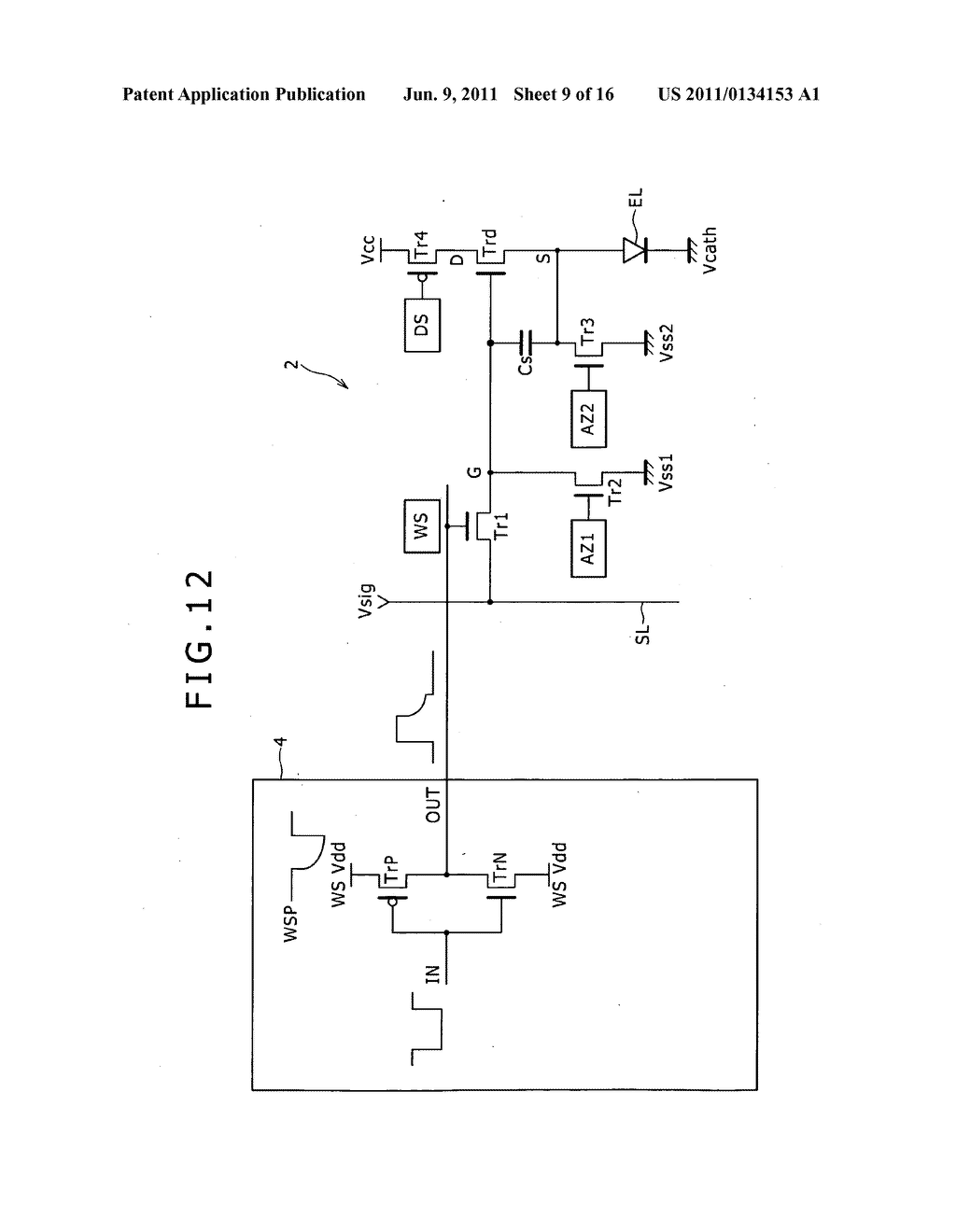 Display apparatus and driving method therefor - diagram, schematic, and image 10