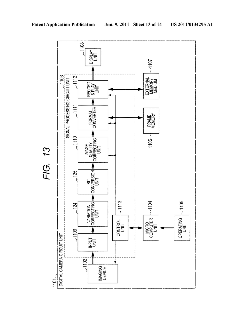 IMAGING APPARATUS AND METHOD FOR DRIVING THE SAME - diagram, schematic, and image 14