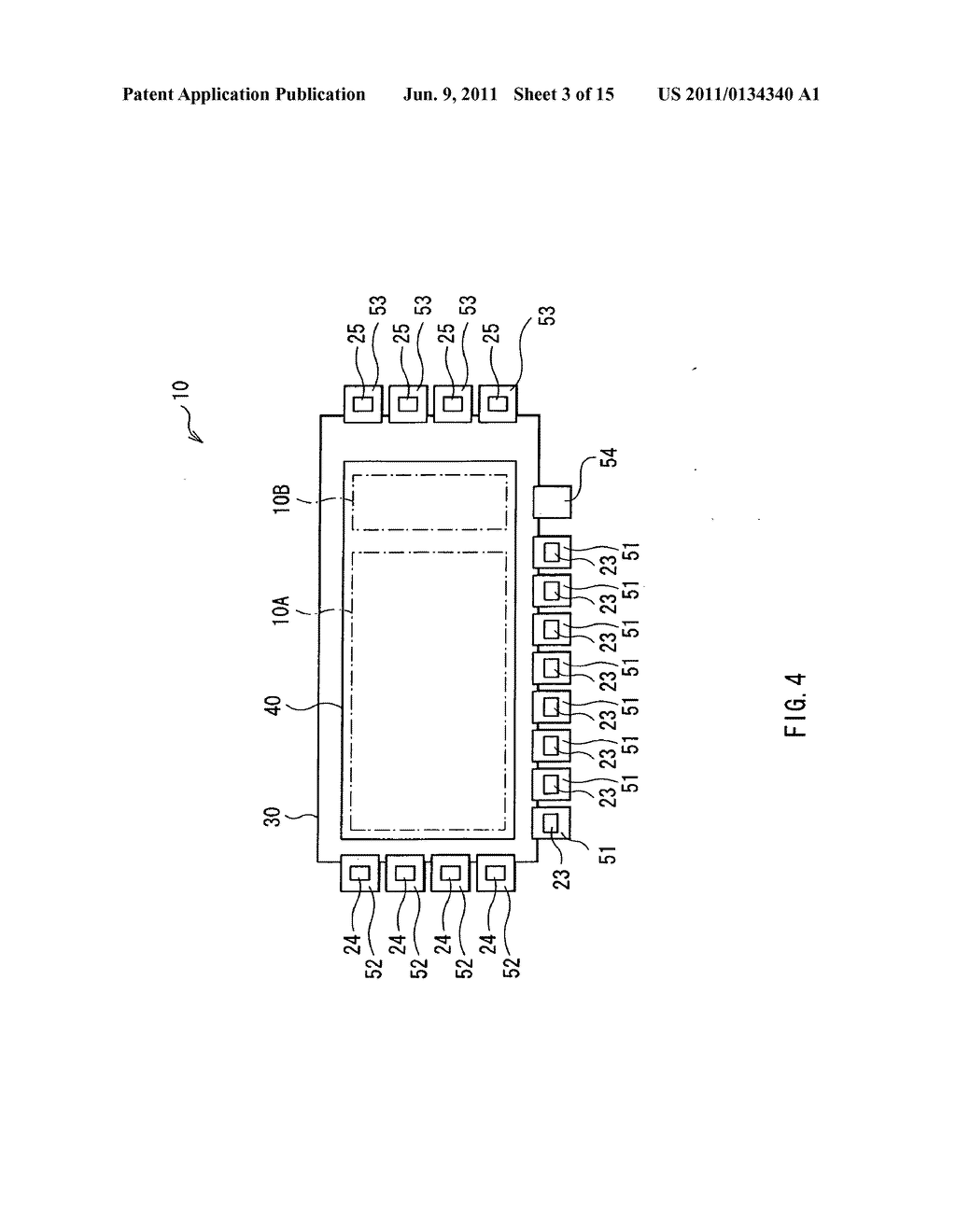 Display device, method of driving the display device, and electronic     device - diagram, schematic, and image 04