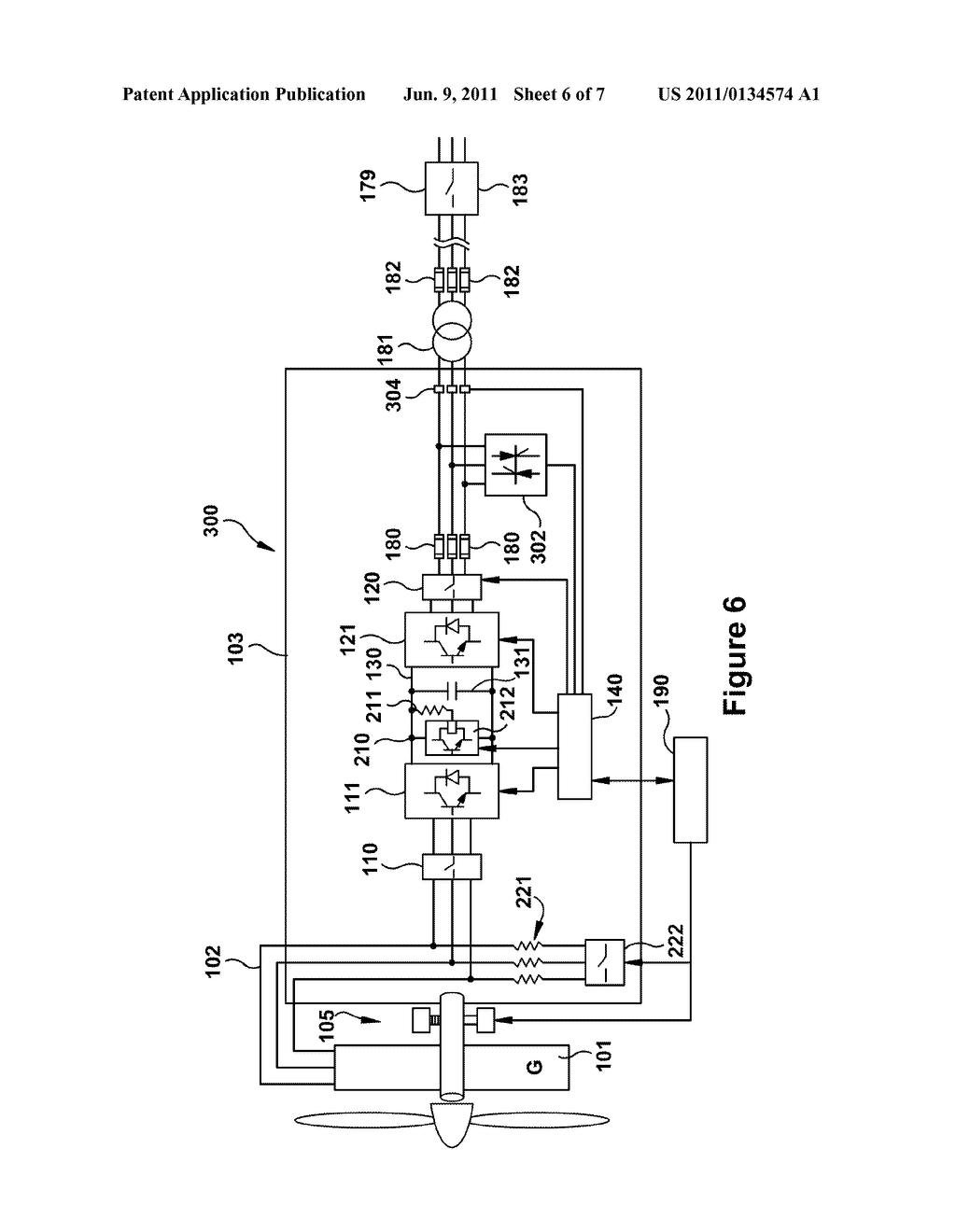SYSTEMS AND APPARATUS RELATING TO WIND TURBINE ELECTRICAL CONTROL AND  OPERATION - diagram, schematic, and image 07