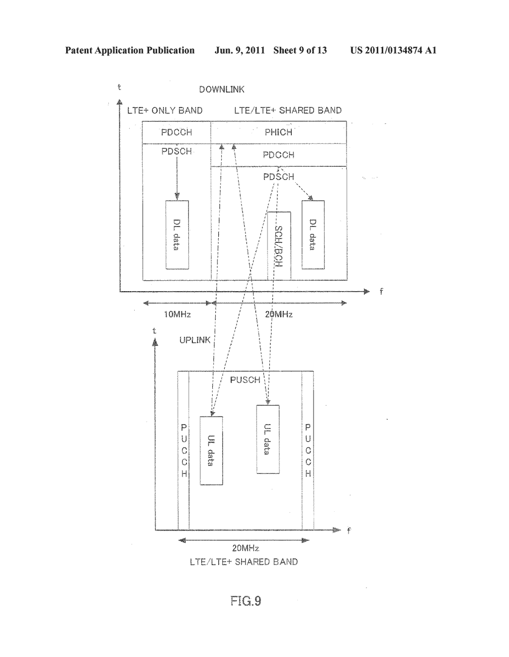 WIRELESS COMMUNICATION BASE STATION DEVICE, WIRELESS COMMUNICATION     TERMINAL DEVICE, AND CHANNEL ALLOCATION METHOD - diagram, schematic, and image 10
