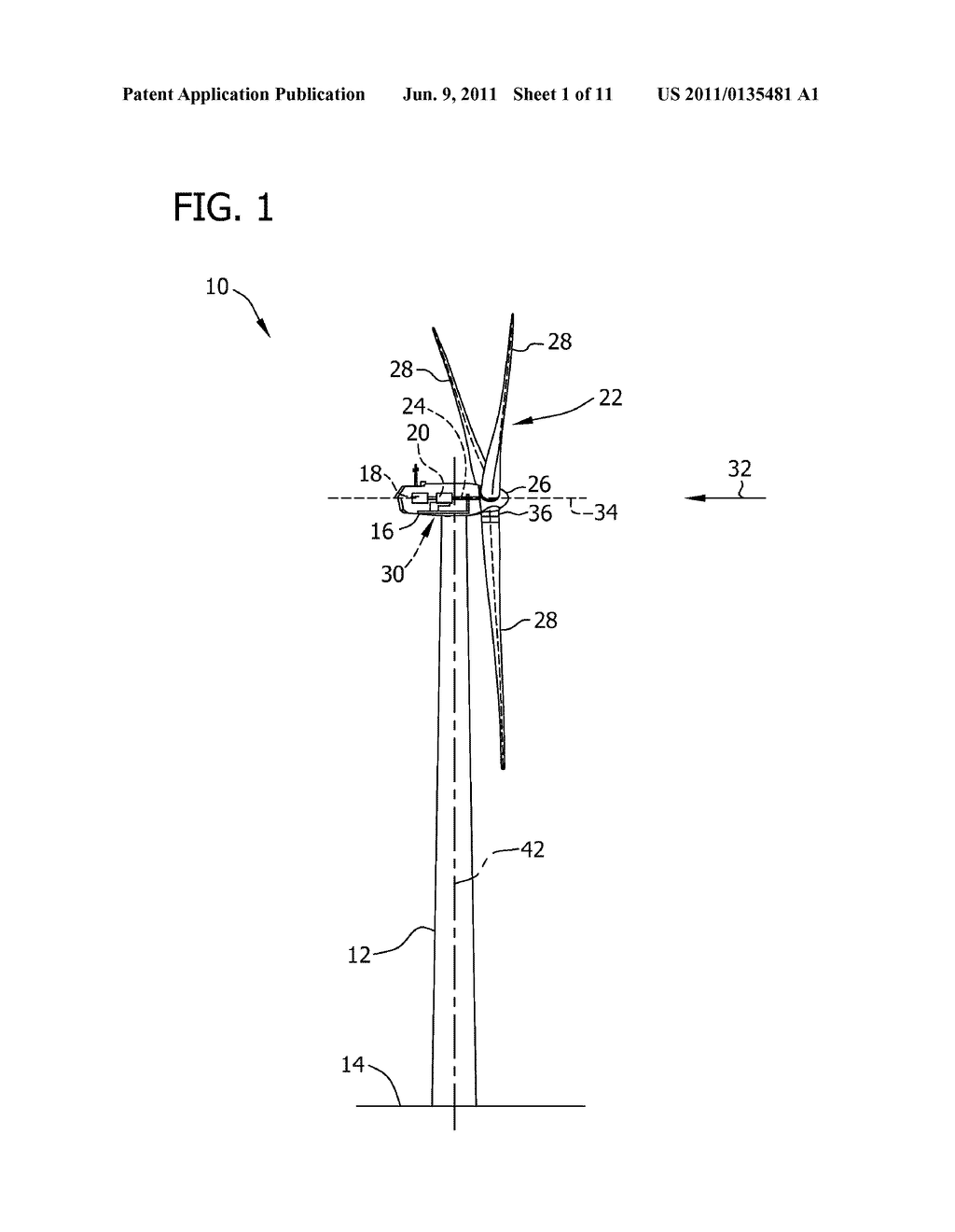 SYSTEMS AND METHODS FOR ASSEMBLING A ROTOR LOCK ASSEMBLY FOR USE IN A WIND     TURBINE - diagram, schematic, and image 02