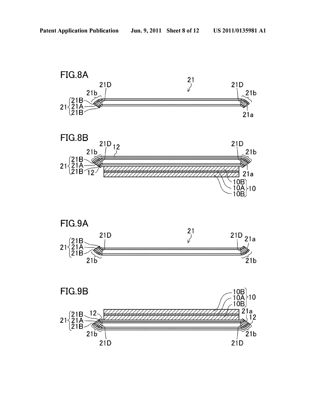NONAQUEOUS ELECTROLYTE SECONDARY BATTERY AND METHOD FOR FABRICATING THE     SAME - diagram, schematic, and image 09