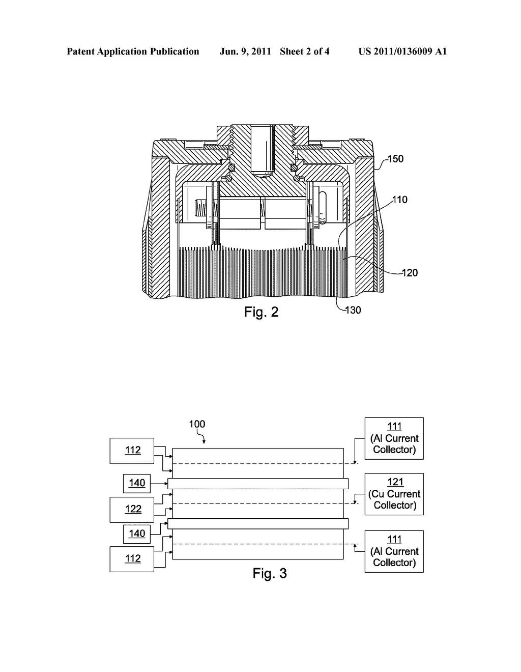 RECHARGEABLE BATTERY USING AN AQUEOUS BINDER - diagram, schematic, and image 03