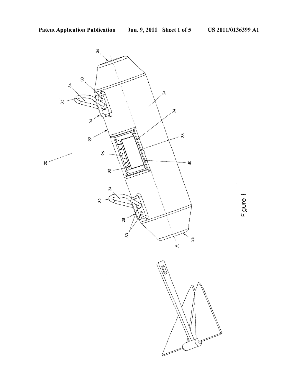 Marker For Floating On The Surface Of A Body Of Water - diagram, schematic, and image 02