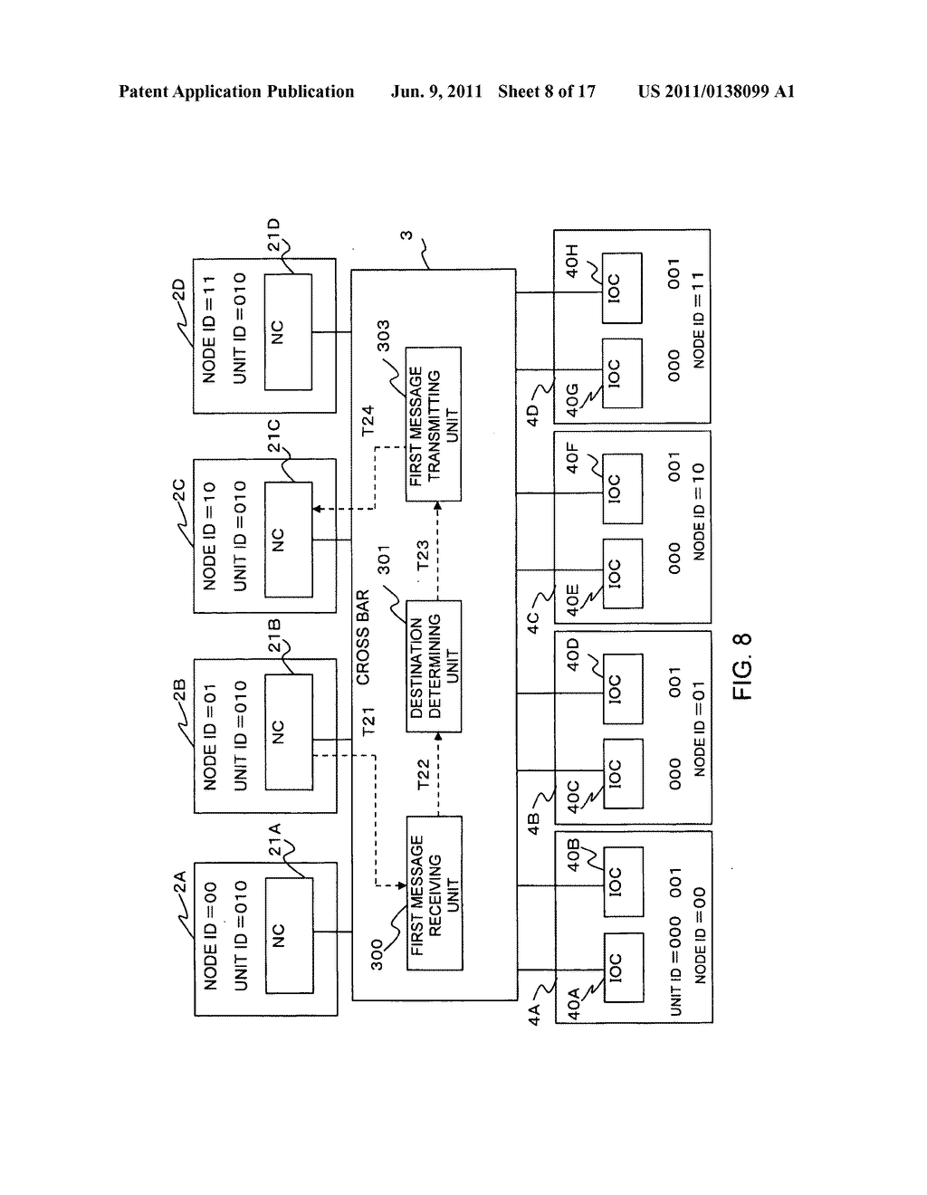 Method for communicating between nodes and server apparatus - diagram, schematic, and image 09