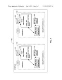 CROSS SECURITY-DOMAIN IDENTITY CONTEXT PROJECTION WITHIN A COMPUTING     ENVIRONMENT diagram and image
